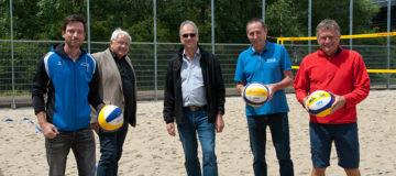 Eröffnung Beachvolleyballplatz